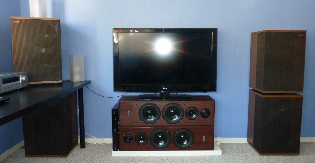 bose 501 speakers. the 501s are 4 speakers on sides. bose 501